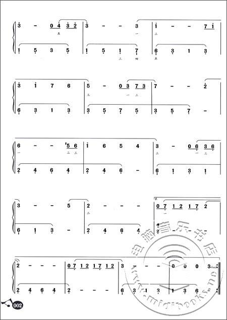 理查德·克莱德曼钢琴名曲最新精选(初学简谱版)