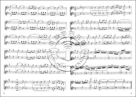 少儿小提琴二重奏曲集