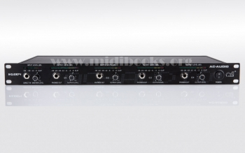 AC-AUDIO H1004 四通道耳机放大器/耳机分配器
