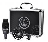 AKG C3000 大振膜心形指向电容话筒