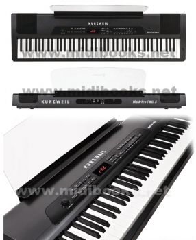 KURZWEIL Mark Pro TWO iS 88键全配重便携式电钢琴