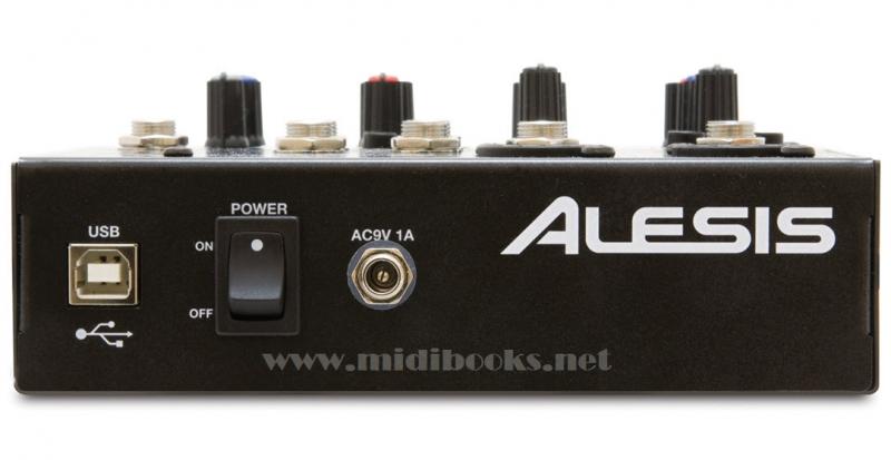 爱丽丝Alesis MultiMix 4 USB小型调音台(USB音频接口)