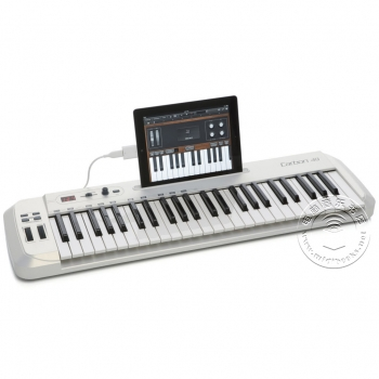 SAMSON 山逊 Carbon 49 半配重 USB MIDI键盘(支持IPAD)