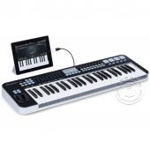 SAMSON 山逊 Graphite 49 键 半配重USB MIDI键盘(带触后功能 可接iPAD)