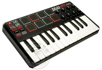 AKAI 雅佳 MPK Mini 25键迷你midi键盘