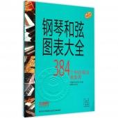 钢琴和弦图表大全:384个和弦指法速查表(原版引进)