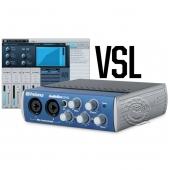 PreSonus AudioBox 22VSL 2进2出 USB2.0音频接口(带效果器)