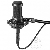 铁三角 AT2035 心形指向专业电容话筒