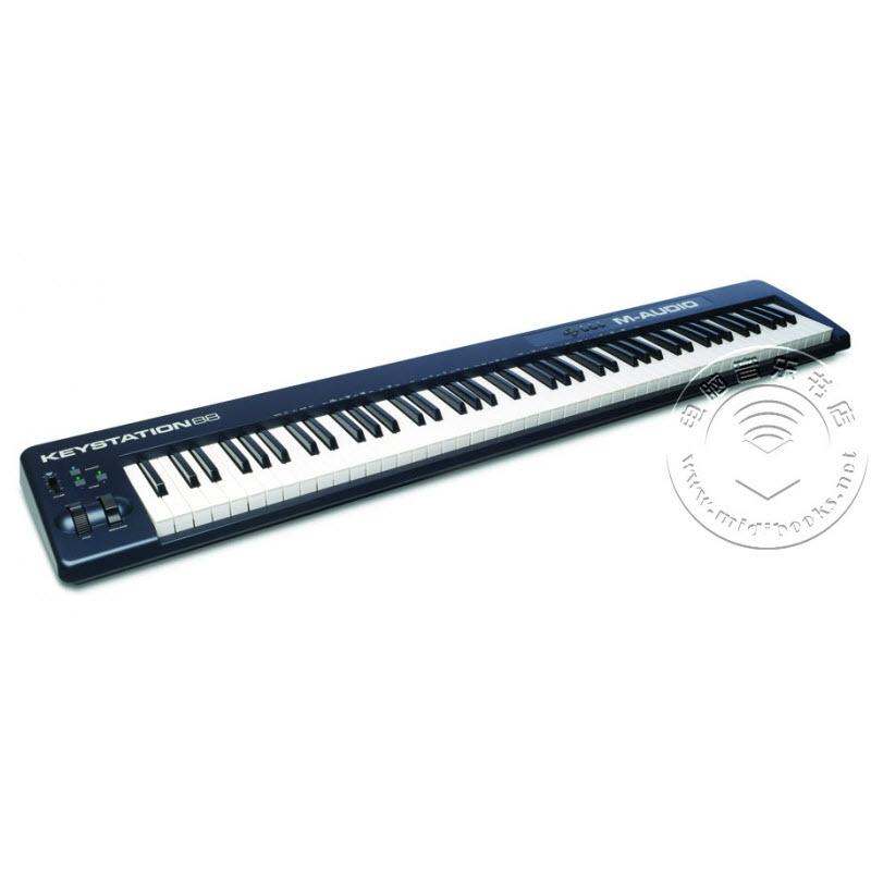 M-Audio Keystation 88 88键USB MIDI键盘控制器